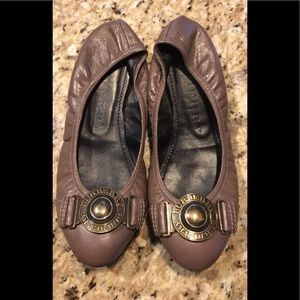 ❌SOLD❌ Leather Burberry ballet flats size 8